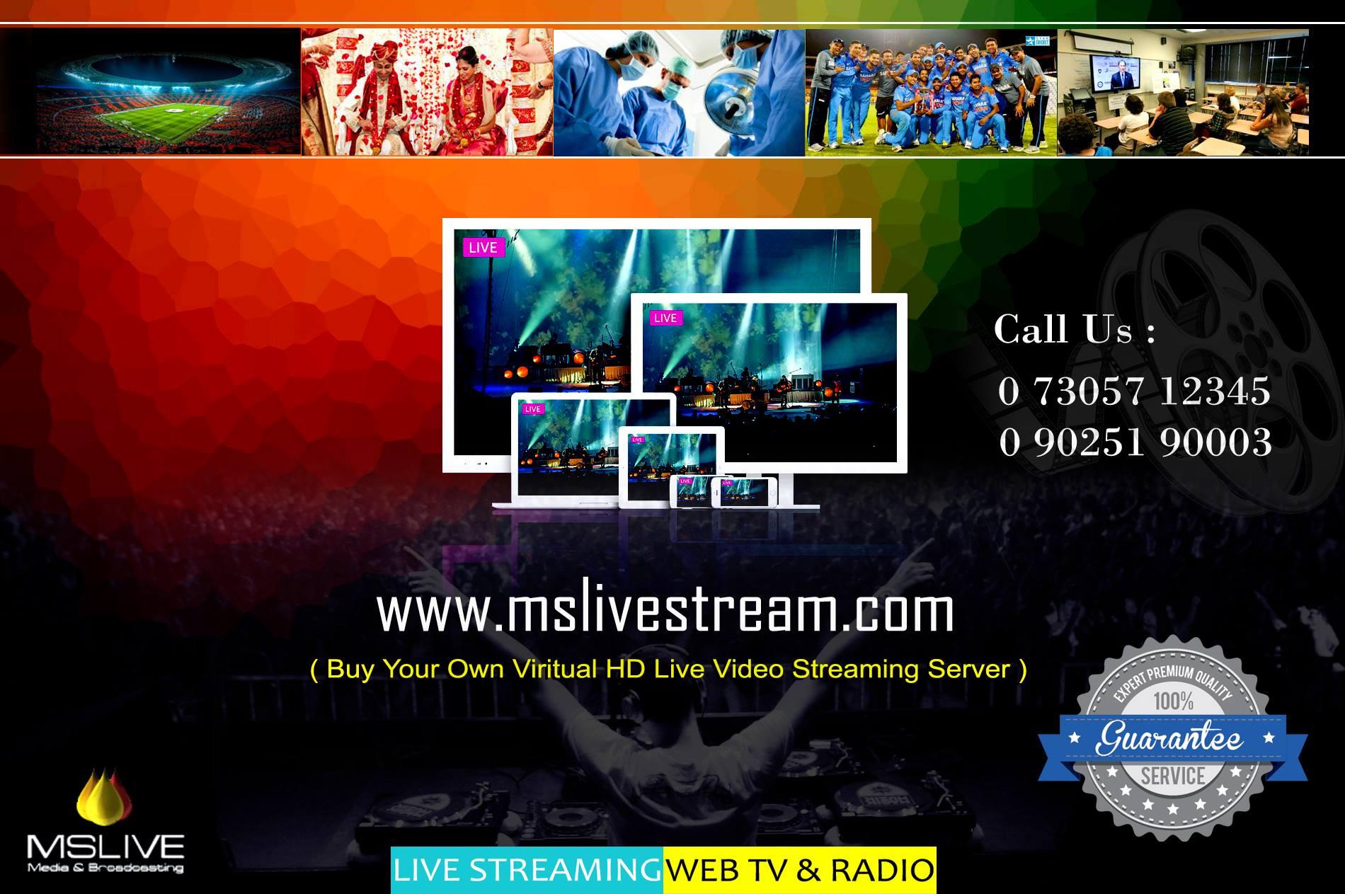 wedding live tv